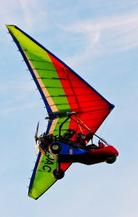 Jazz trike flying high