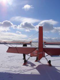Samolot SkyRanger from behind ;)